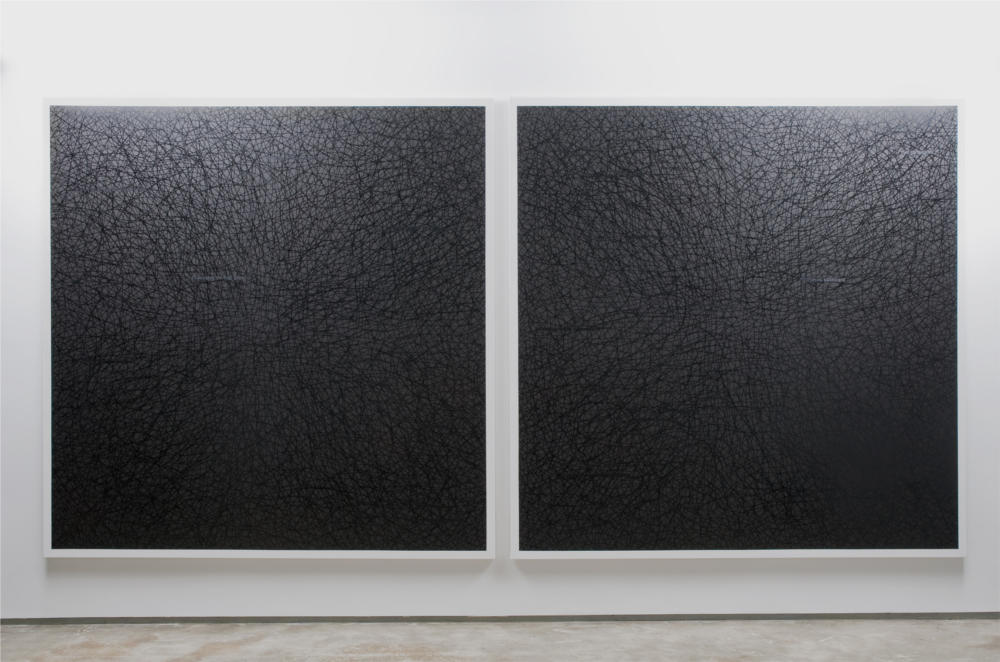 203x203 cm, Oil on canvas 2009