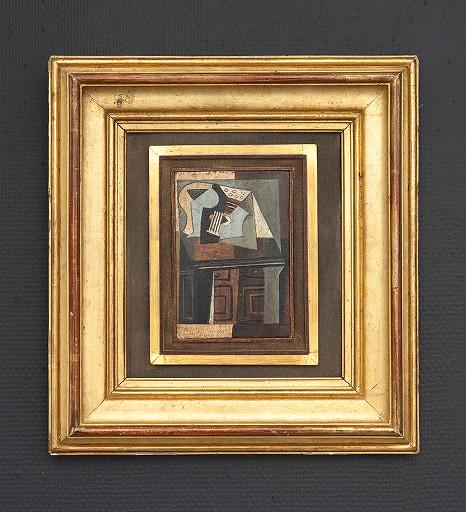 Oil on wood, 38.5x35.5cm, 2008/2012
